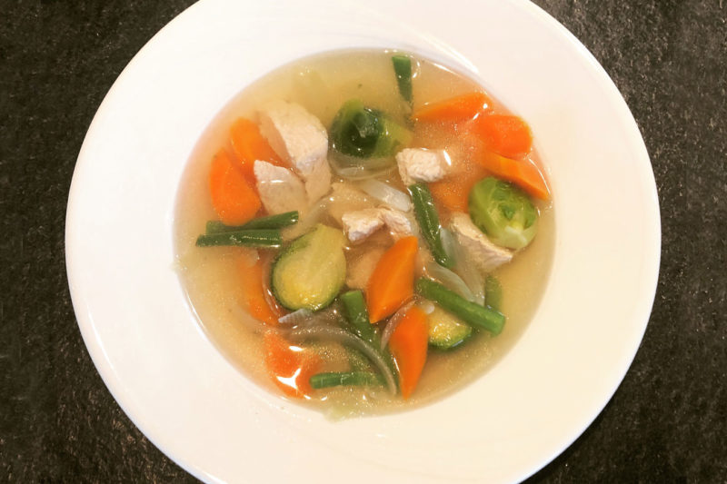Chicken soup for your health!