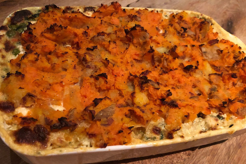 Jamie Oliver's fish pie: A British classic–pimped with nutrition